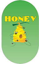 The Skep Honey Labels