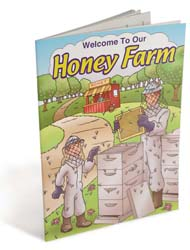 Our Honey Farm Coloring Book
