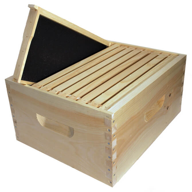 Wooden Bee Hive Kits 10 Frame Betterbee
