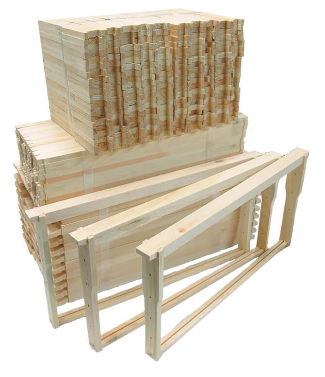 Deep Wooden Frames - Budget | Betterbee