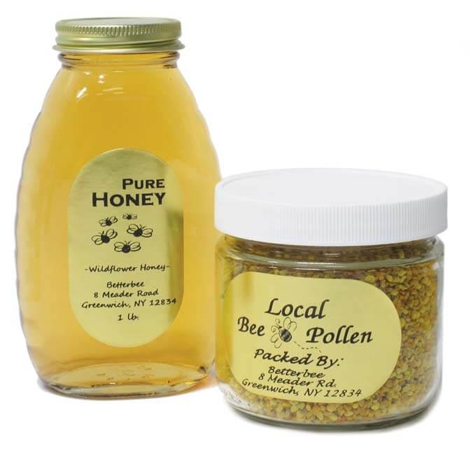 small jar labels