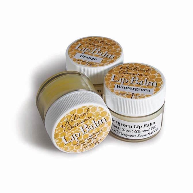 lip balm jar labels betterbee