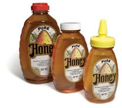 1lb Plastic Honey Bottle
