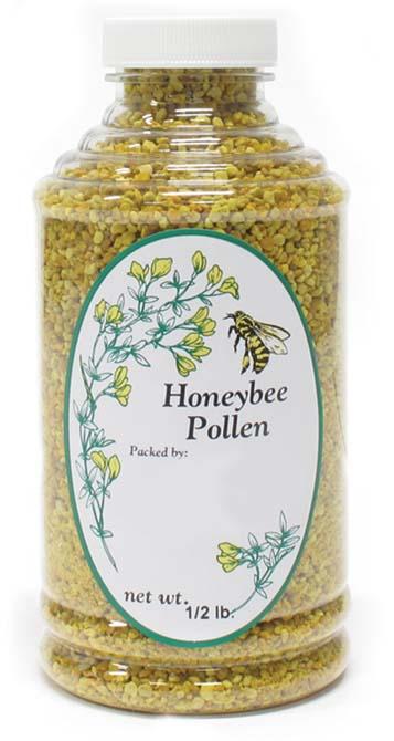 honeybee pollen blank jar labels betterbee