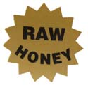 Raw Honey Label: Roll of 100