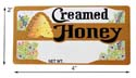 Bee Skep: Creamed Rectangle Ro