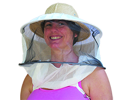 Round Veil w/ Incorporated Hat
