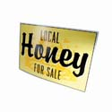 Large Honey for Sale Sign