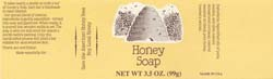 Country Honey Soap Label