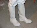 White Beekeeper Boots