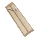"9"" Candle Taper Box: Case of 254"