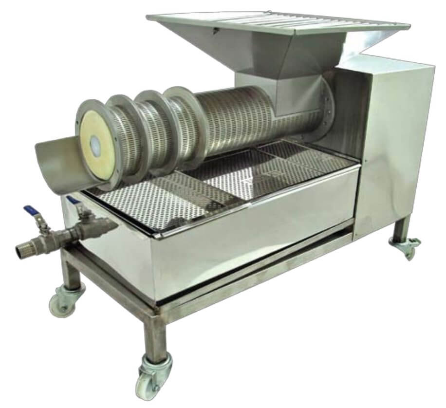100 kg/hr cappings extruder