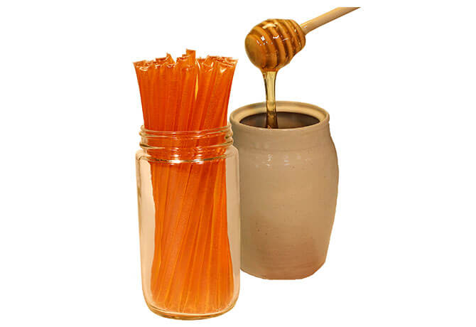 Honey Straw 50 Pack