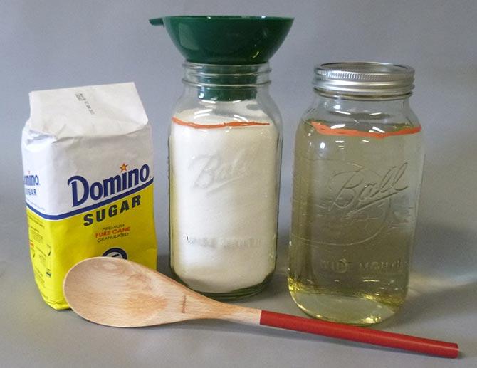 Making Sugar Syrup