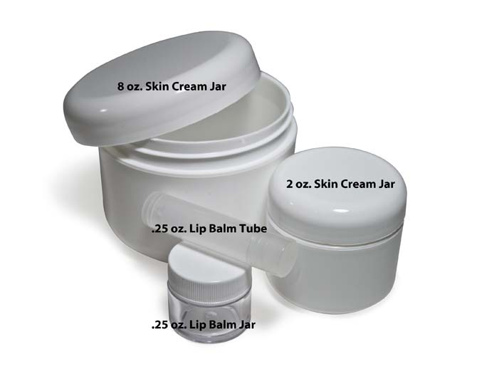 8 Oz Skin Cream Jar Cap Betterbee