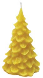 Beeswax Candle: Tree