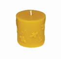 Beeswax Candle: Buzzing Bee