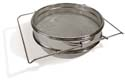 Stainless Double Sieve