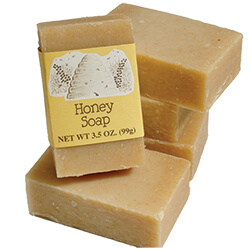 Country Honey Soap with Label